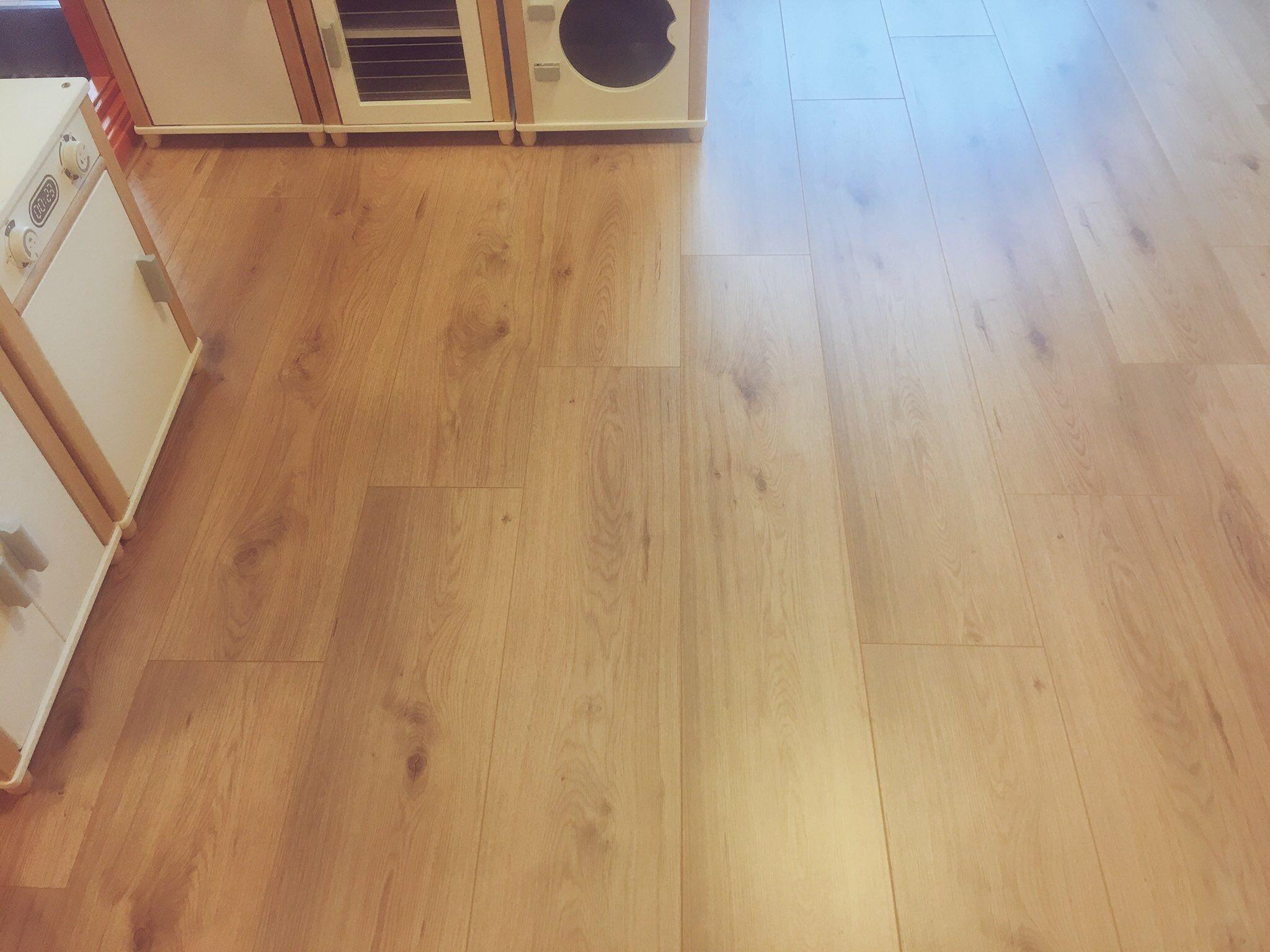 Gehele pand voorzien van een houten vloer