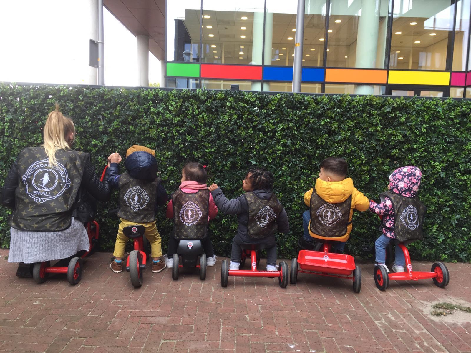 Nieuwe fietsen op Ypenburg